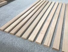 12 Oak Hardwood Garden Bench Slats 53mm X 22mm X 1220mm Solid Oak Chair Seat