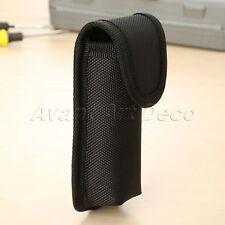 Black Sheath Knife Belt Loop Pocket Holster Pouch Case Tool Waist Holder Outdoor