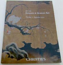 JAPANESE & KOREAN ART 2012 CHRISTIE'S AUCTION CATALOG