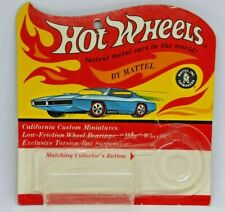 Hot Wheels Redlines Blister Pack Cheetah Card (empty) in excellent condition!