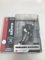 McFarlane Series 8 TIM BROWN Oakland Raiders NO TOWEL Chase Variant Black NFL
