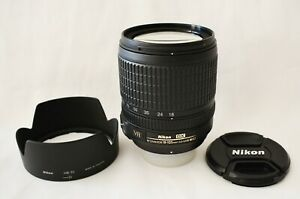 Nikon AF-S DX 18-105mm f/3.5-5.6G ED VR Lens - As new