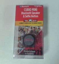 New Washington State Cougars Cubio Mini Bluetooth Speaker - Takes Selfies