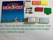 U-PICK Monopoly 1935 Commemorative Edition replacement Pieces 1985