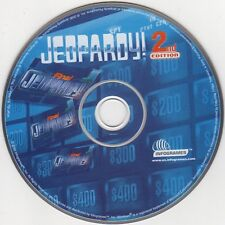Jeopardy! 2nd Edition (PC-CD, 2000) for Windows - NEW CD in SLEEVE