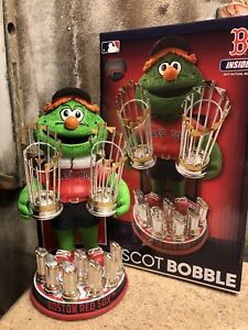 """WALLY"" Boston Red Sox 9x World Series Champs EXCLUSIVE Mascot Bobblehead"