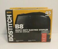 Bostitch B8 45 Electric Stapler Black w/ 5000 Power Crown Staples