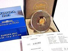 RARE COFFRET 5 EURO EUROPA BE 2011 OR 999/10000 / FETE DE LA MUSIQUE