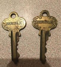 New listing Set of Two Vintage Norwalk Keys