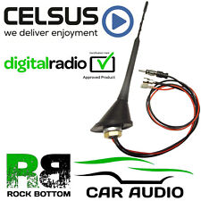 Mercedes Sprinter 23cm DAB Digital Radio AM/FM Roof Mount Whip Aerial Antenna