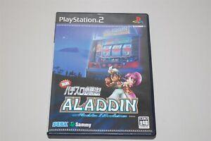 Aladdin 2 Pachi-Slot Hisshouhou Japan Sony Playstation 2 PS2 game