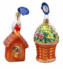 Hummel Goebel Ornaments Love Letters NIB Made in Germany Mouth-Blown 191911