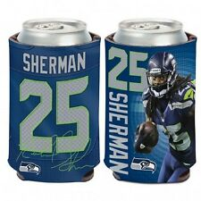 Seattle Seahawks Richard Sherman Can Cooler (NEW) Coozie Koozie Holder Drink