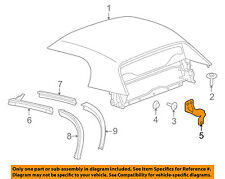 GM OEM Convertible/soft Top-Pivot Bracket Right 15841184