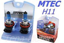 2x MTEC H11 12V 100W Faros delantero Halógeno Niebla Bombilla 4350k MUY BLANCO