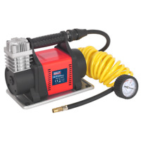 Tyre Inflator/Mini Air Compressor 12V Heavy-Duty | SEALEY MAC05 by Sealey | New