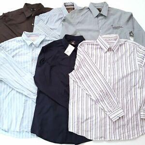 Mens 6 Formal/Smart Casual Shirts Size L Bundle Inc. G-Star Raw Jack Wills Gap