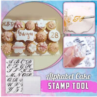 Alphabet Stamp Tool Fondant Cake Mold DIY Cookie Stamp English Biscuit Cutter