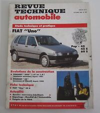 Revue technique  RTA 520 Fiat UNO pop 45 45 S 60 S