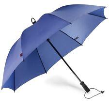 walimex pro Swing handsfree Regenschirm Freihandschirm marine