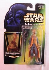 Star Wars Saelt-Marae Yak Face POTF Hologram Collection 2 Green Card Figure