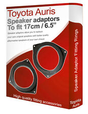 "Toyota Auris speaker adapter pods Front Door 17cm 6.5"" fitting rings adaptors"