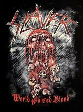 """Slayer schiena ricamate/Back Patch # 7 """"World Painted Blood"""""""