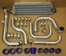 Civic Integra Bolt on Turbo Front Mount Intercooler 2.5'' Inlet Piping Kit BLUE