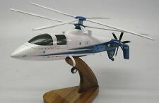 Sikorsky X-2 Demonstrator Helicopter Wood Model Replica Small Free Shipping