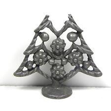 Vintage Pewter Camco Figurine Tree