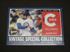 2002 UPPER DECK VINTAGE SPECIAL COLLECTION RYNE SANDBERG S-RS RARE! BV $50