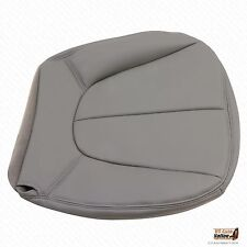 1998 Ford Expedition XLT Driver Bottom Leather Seat Cover GRAY