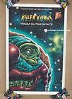 Killer Klowns from Outer Space Screen Print Poster #71/75 AP Jason Edmiston
