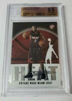2003-04 Topps Pristine #113 Dwayne Wade C Rookie Card RC BGS 9.5 - Gem, HEAT!!!