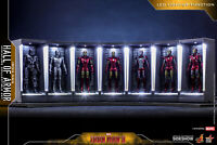 Ready! Hot Toys Iron Man 3 - Miniature Figure Hall Of Armor Full Set of 7 New