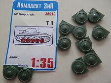 ZIP 1/35 T-34,SU-85/100/122/152,KV-1,KV-8,L 4500R,Ford V3000,Tiger,GAZ-AA wheels