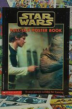 1997 Star Wars Pull Out Poster Book Scholastic 15 Mini Posters