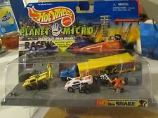 Hot Wheels Planet Micro Dragster Racing Series The Snake, micro size mega detail