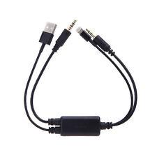 AUTO USB 3.5MM Cavo di Interfaccia Adattatore Aux per BMW Mini Cooper iPhone AB di vendita