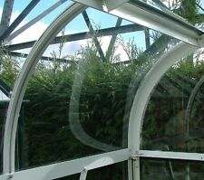 Halls Curved Greenhouse  Acrylic Panel 610mm x440mm