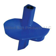 "Allied Bolt 3406 10"" Single Solid Square Hub Helix Power Driven Anchor-NEW"