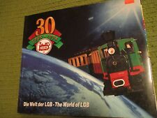 Vintage 1998 WORLD OF LGB 30 Years Catalog Articles Softcover 179pgs 265