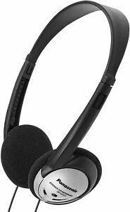 Panasonic RP-HT21 3.5 mm Jack Lightweight Wired On-Ear Headphones Black