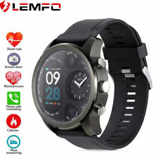 Lemfo T3 Reloj Inteligente Deportivo Impermeable Presión Arterial Frecuencia Cardíaca para Android iOS
