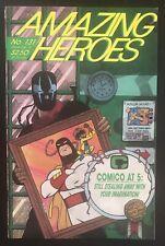 Amazing Heroes #131 first printing 1987 Comic Book Venom Marvel Spidermam