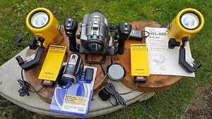 Sea & See Underwater Filming Housing Set Sony DCR-PC330 Sony Lights