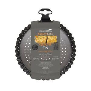 MasterClass Crusty Bake Non-stick Fluted Round 18/20/23/25/28cm Quiche Tin