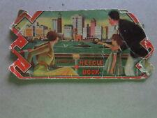 Vintage Sewing Needle Books Art Deco City Scene - Mountain Scene imporrted