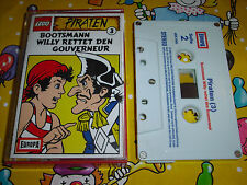 Lego Piraten Kassette MC Folge 3 - Bootsmann Willy rettet den Gouverneur Europa