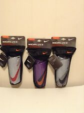 Nike Mercurial Lite III Soccer Shinguards With Sleeves L size